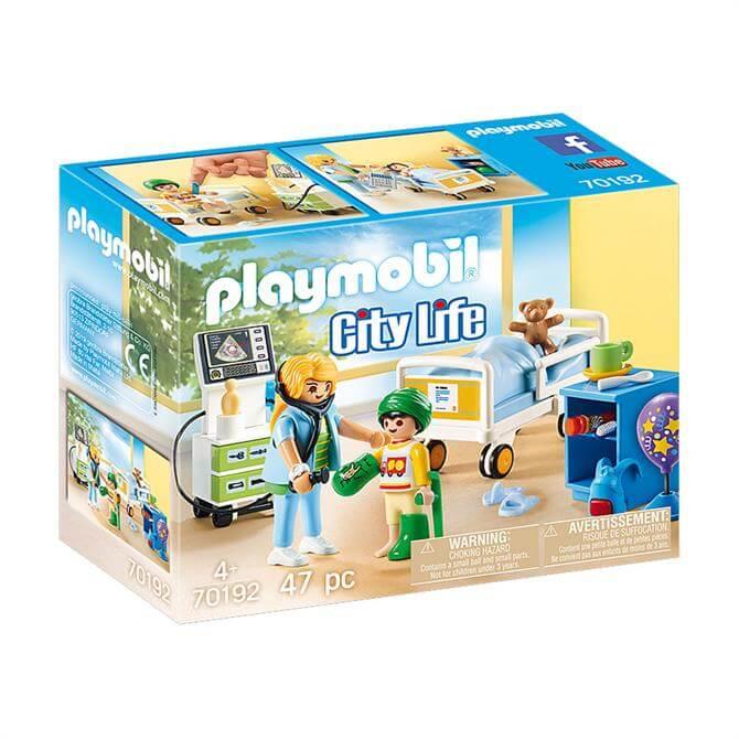Playmobil City Life Children's Hopsital Room 70192