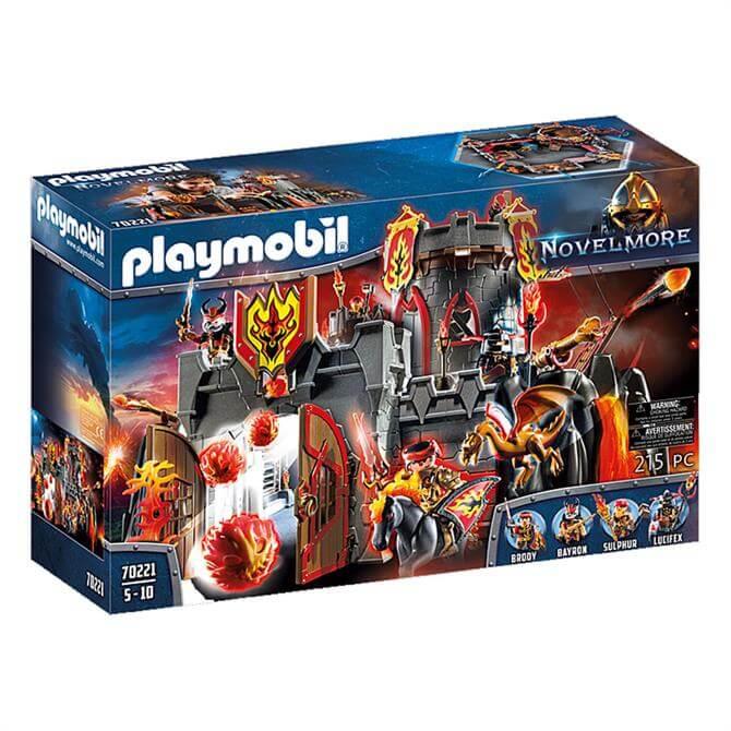 Playmobil Novelmore Burnham Raiders Fortress 70221