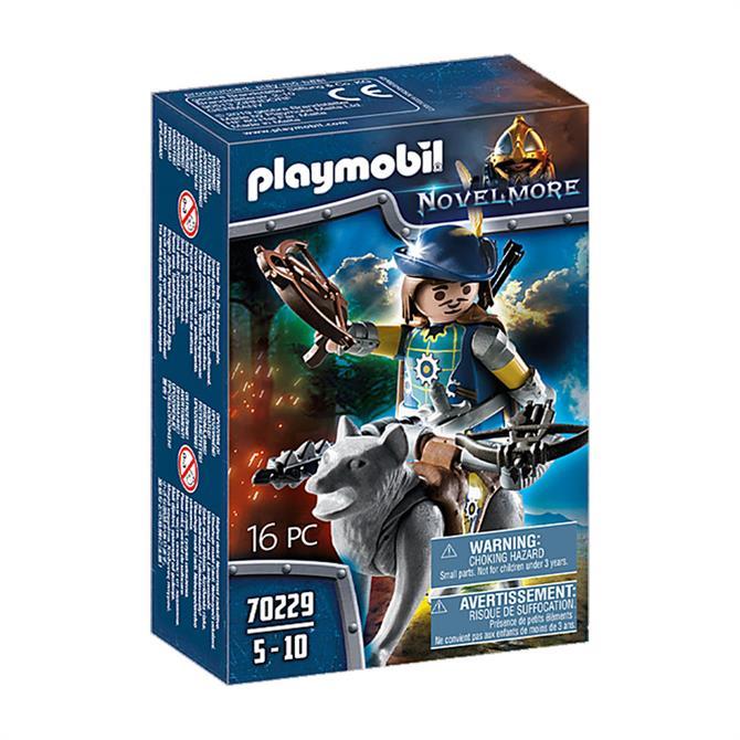 Playmobil Novelmore Crossbowman with Wolf 70229
