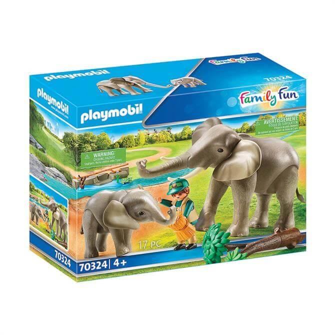 Playmobil Family Fun Elephant Habitat 70324