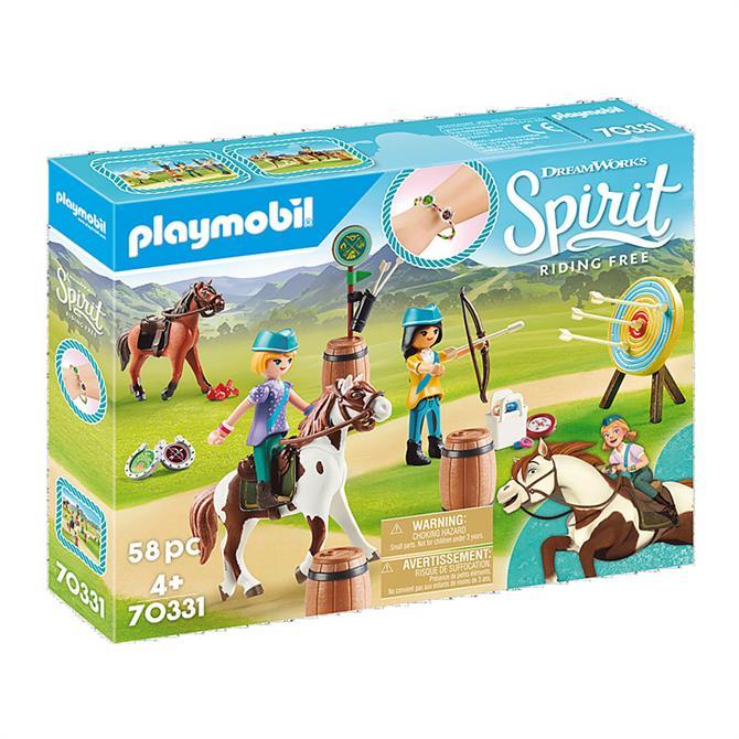 Playmobil Spirit Riding Free Outdoor Adventure 70331