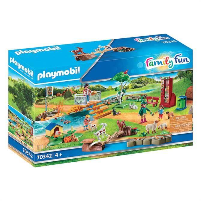 Playmobil Family Fun Petting Zoo 70342