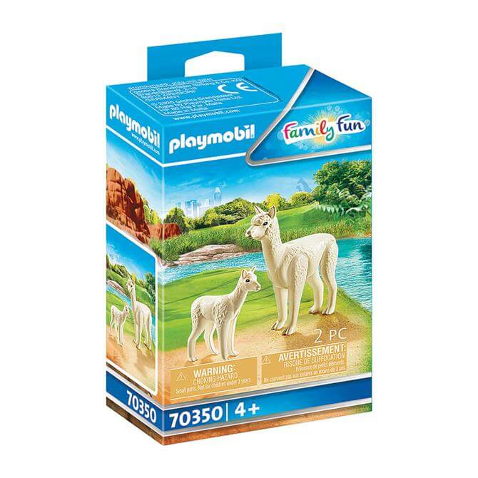 Playmobil Family Fun Alpaca with Baby 70350