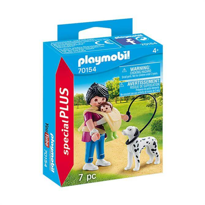 Playmobil Special PLUS Figure Mother with Baby and Dog 70154