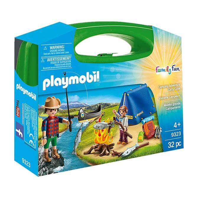 Playmobil Family Fun Camping Adventure Carry Case 9323