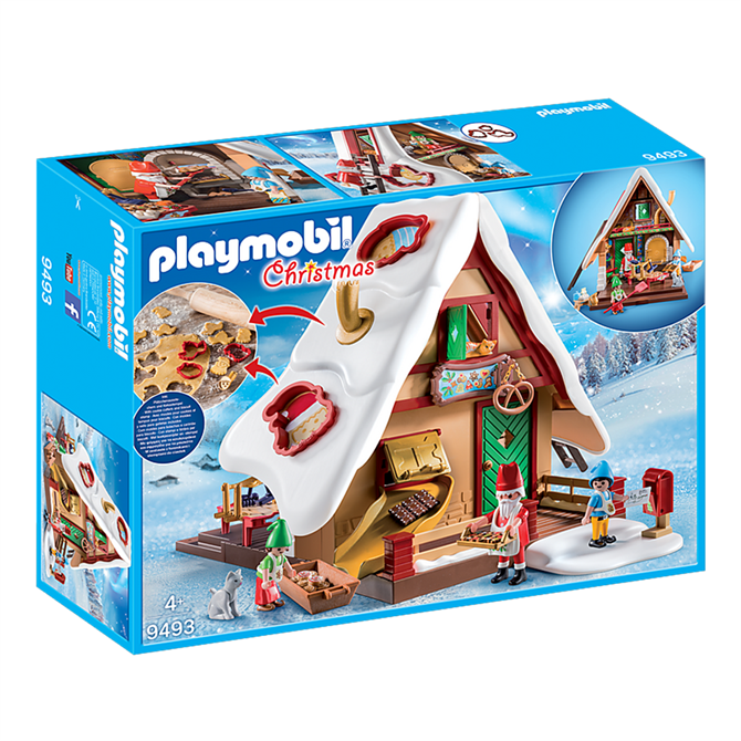 Playmobil Christmas Bakery with Cookie Cutters Set 9493