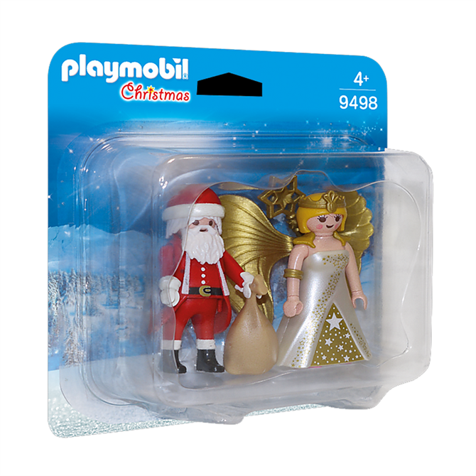 Playmobil Santa and Christmas Angel Set 9498