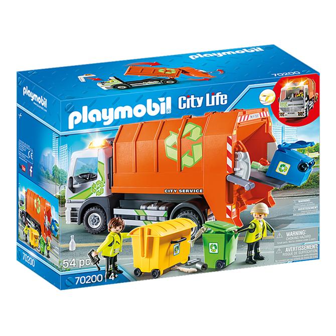 Playmobil City Life Recycling Truck Set 70200