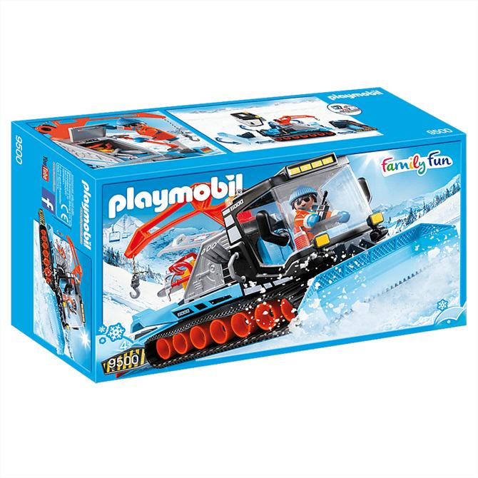 Playmobil Family Fun Snow Plough Set 9500