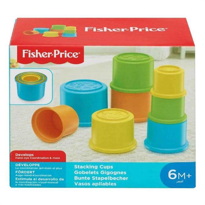 Fisher Price Colourful Stackable Cups