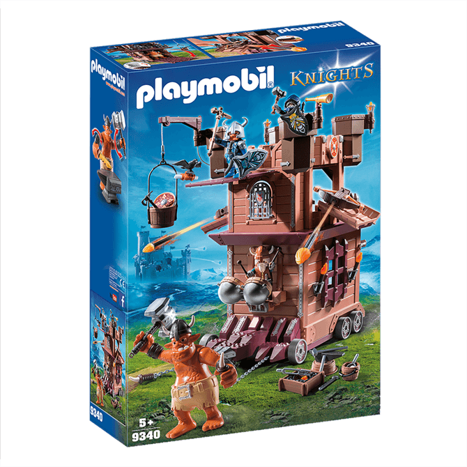 Playmobil Knights Mobile Dwarf Fortress Set 9340