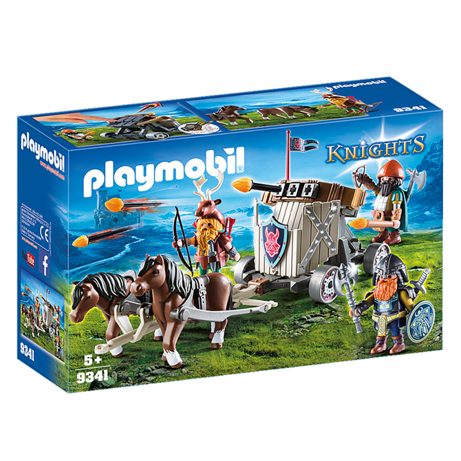 Playmobil Knights Horse-Drawn Ballista Set 9341