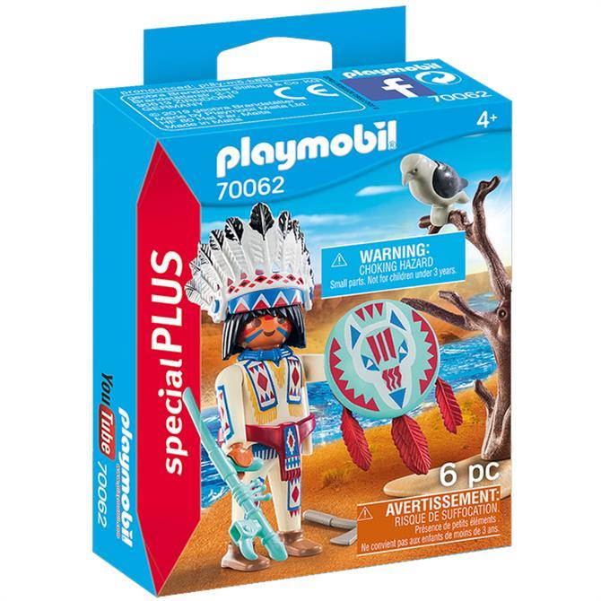 Playmobil Native American Chief