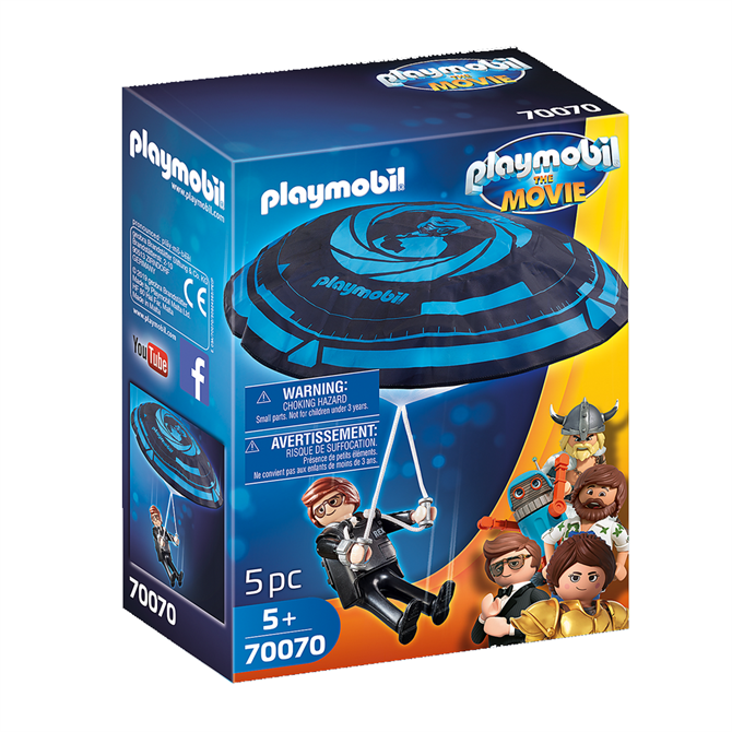 Playmobil: The Movie Rex Dasher with Parachute