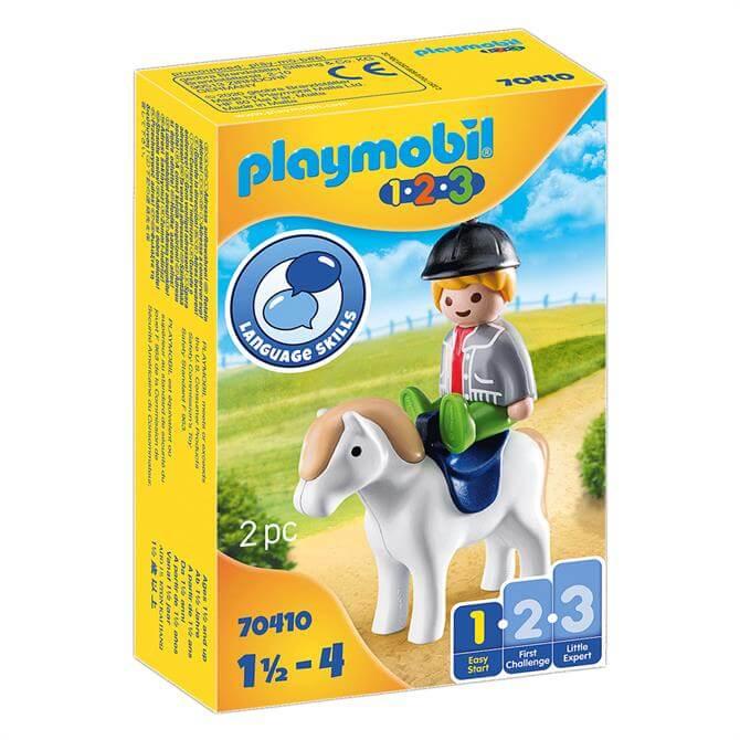 Playmobil Boy With Pony 70410