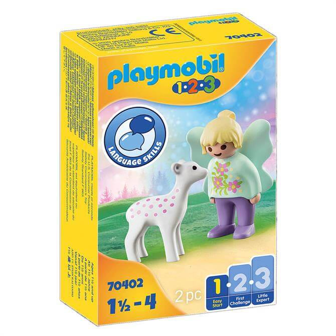 Playmobil Fairy Friend With Fawn 70402