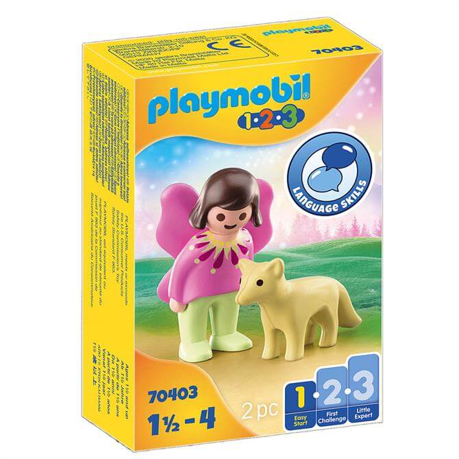 Playmobil Fairy Friend With Fox 70403