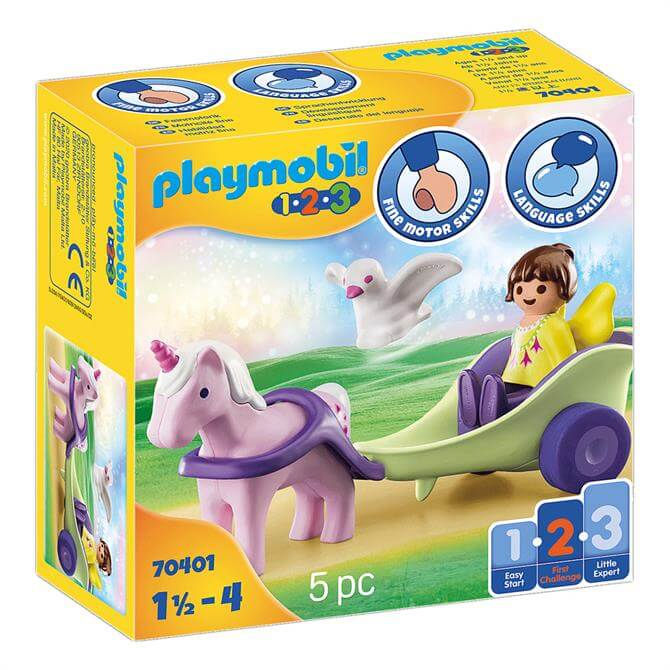 Playmobil Unicorn Carriage With Fairy 70401
