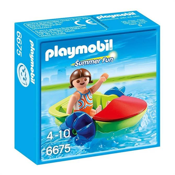 Playmobil Children's Paddle Boat