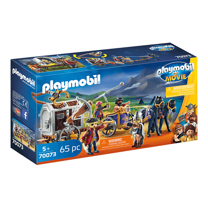 Playmobil: The Movie - Charle with Prison Wagon 70073