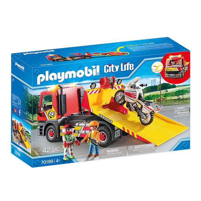 Playmobil CityTowing Service 70199