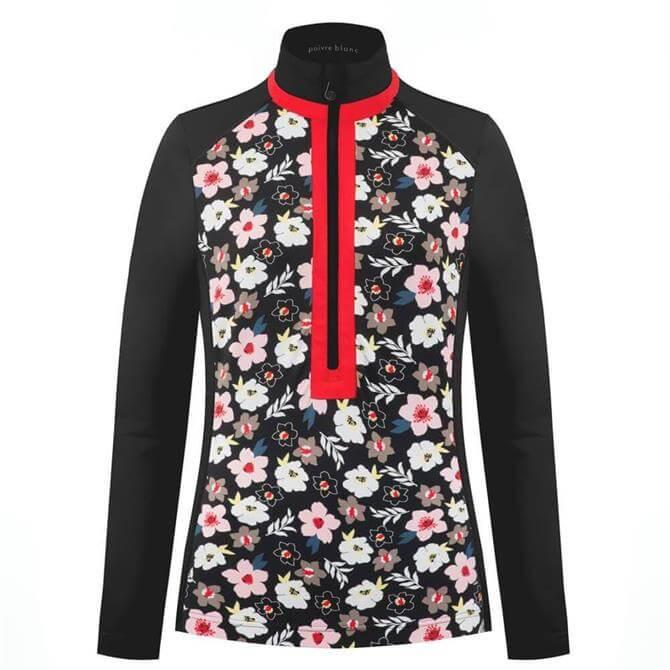 Poivre Blanc Flower Base Layer Shirt