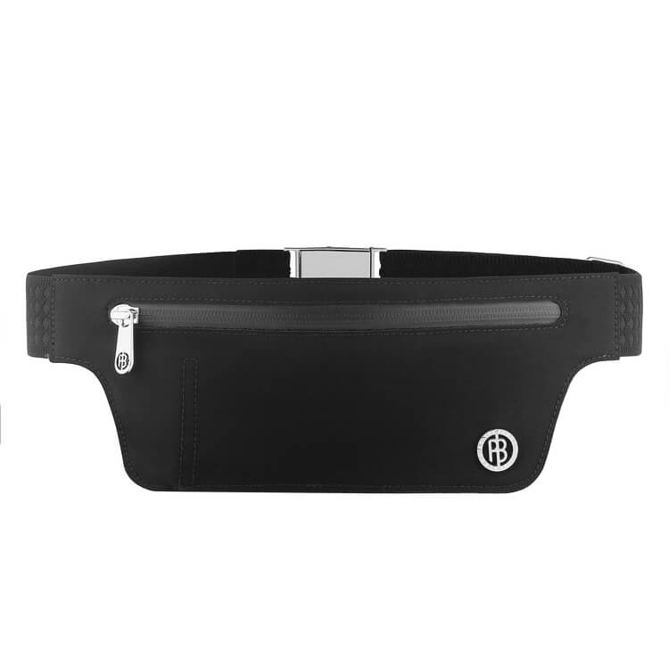 An image of Poivre Blanc Belt Bag - Black - One Size, BLACK
