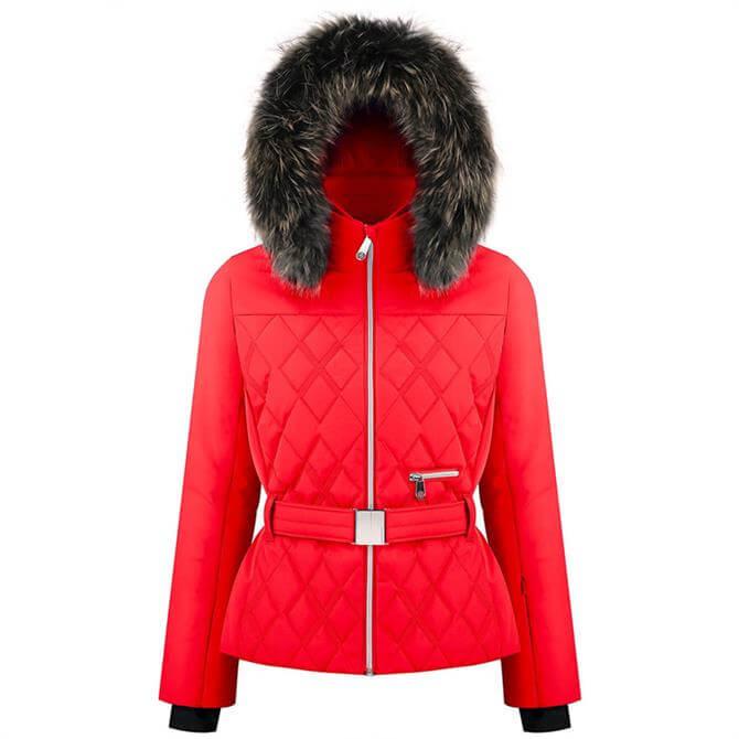 Poivre Blanc Women's Quilted Ski Jacket