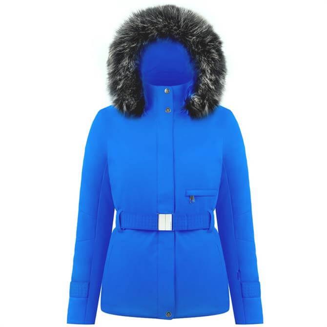 Poivre Blanc Women's Belted Stretch Ski Jacket