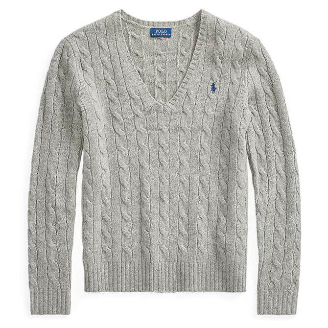 Polo Ralph Lauren Cable Knit Wool-Cashmere Jumper