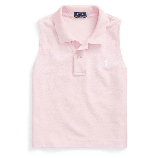 Polo Ralph Lauren Cotton Sleeveless Polo Shirt