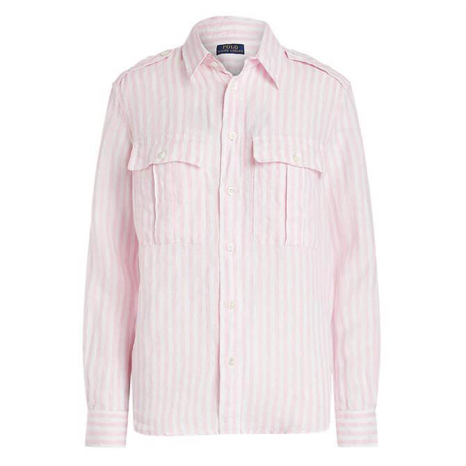Polo Ralph Lauren Patch-Pocket Linen Shirt