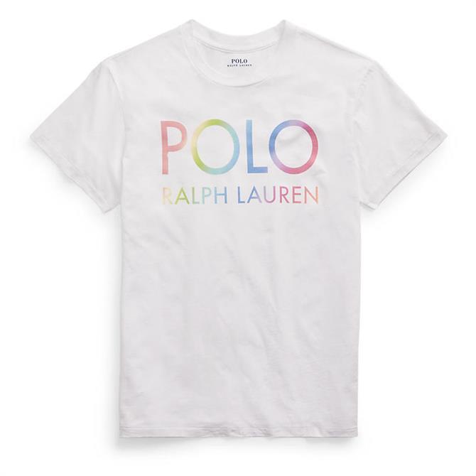 Polo Ralph Lauren Big Fit Ombre Logo Tee