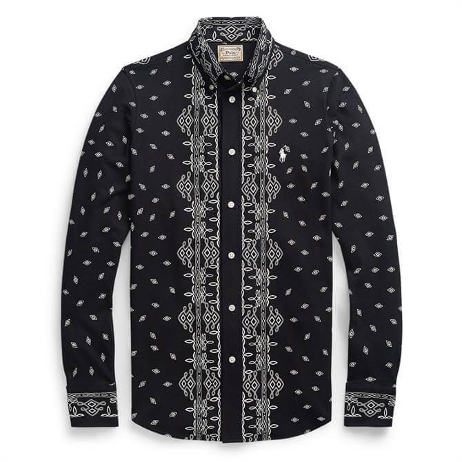 Polo Ralph Lauren Bandanna-Print Cotton Shirt
