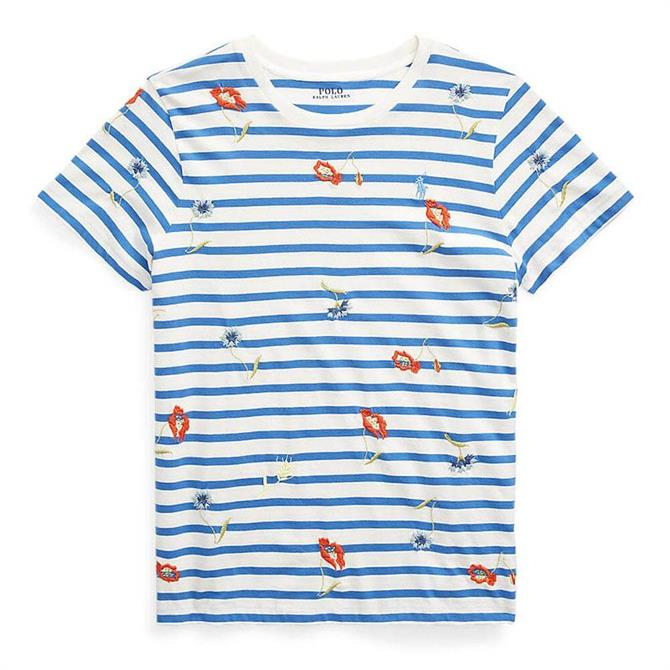 Polo Ralph Lauren Embroidered Jersey Tee