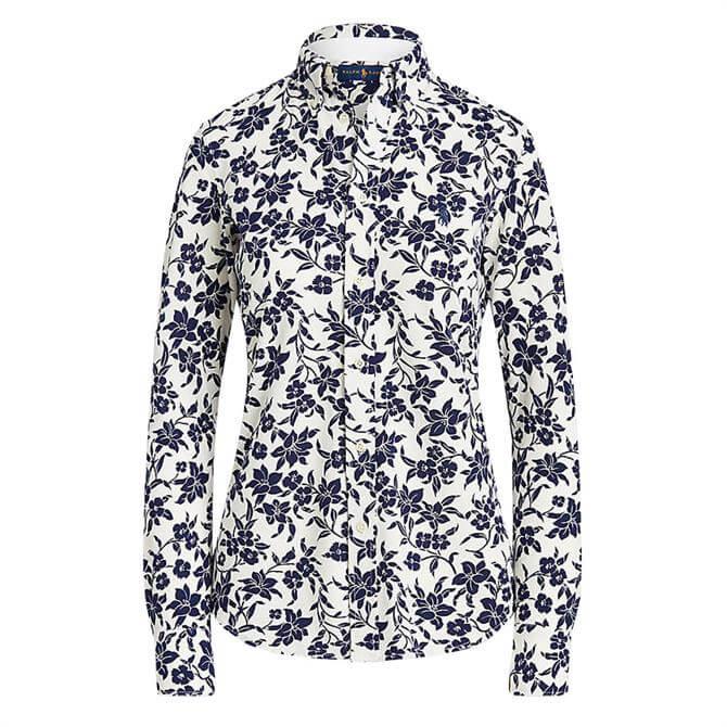 Polo Ralph Lauren Floral Cotton Button-Down Shirt