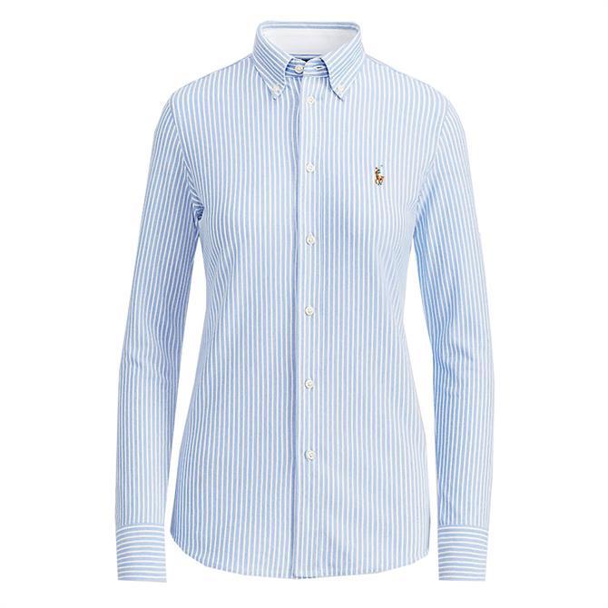 Polo Ralph Lauren Striped Knit Oxford Shirt