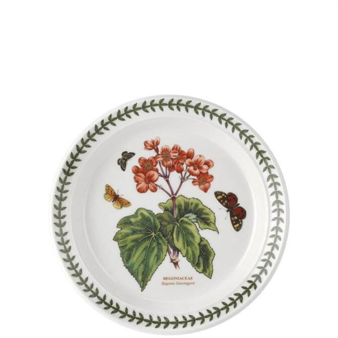 Portmeirion Botanic Garden Begonia 8 Inch Plate