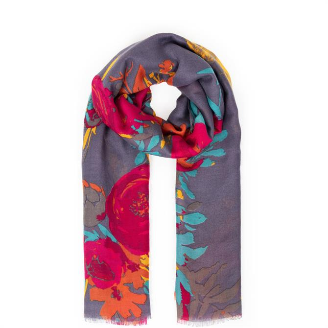 Powder Designs Floral Squirrel Scarf