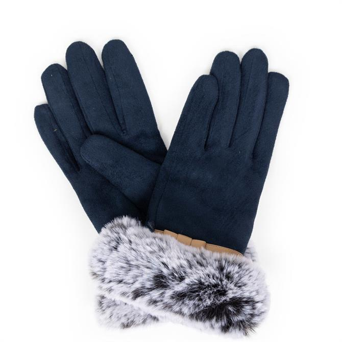 Powder Designs Penelope Faux Suede Gloves