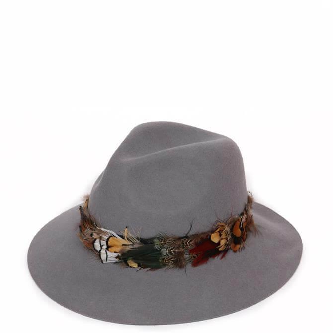 Powder Designs Feather Band Wool Hat