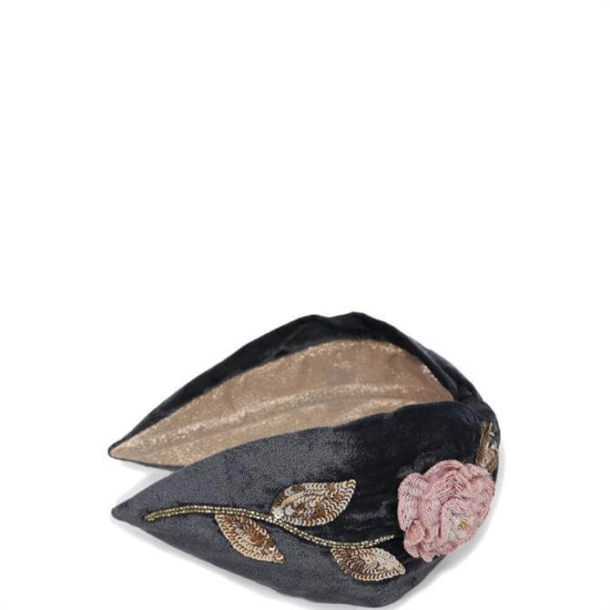 Powder Designs Pink Rose Headband
