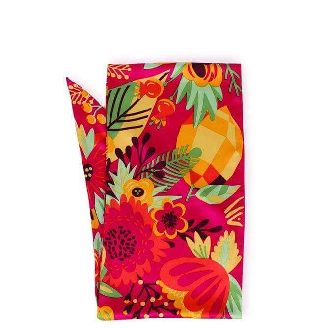 Powder Designs Tropical Fruit Satin Neck Scarf