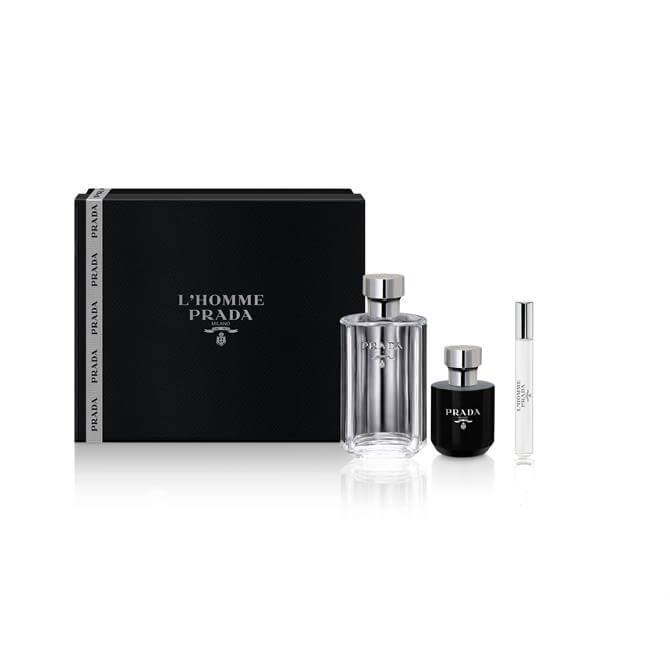 Prada L'Homme Eau de Toilette 100ml Gift Set For Him