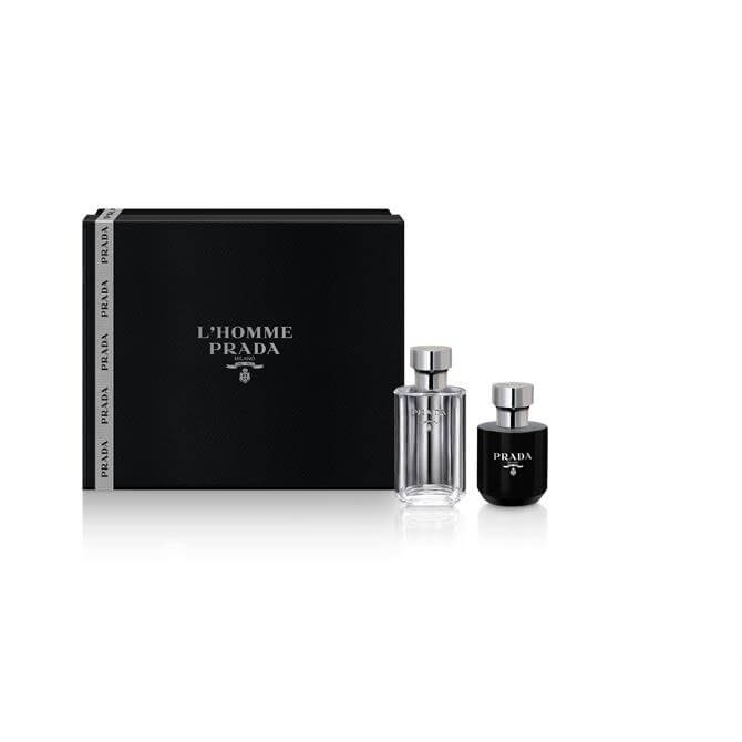 Prada L'Homme Eau de Toilette 50ml Gift Set For Him