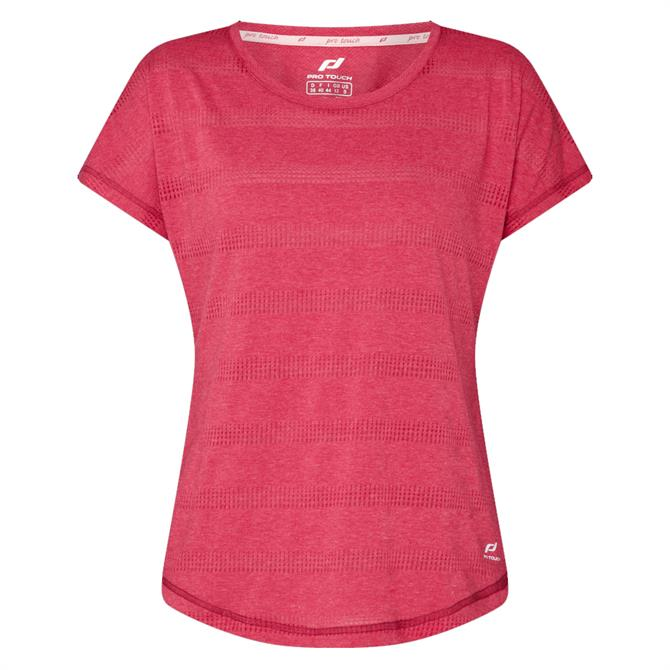 Pro Touch Women's Agny Running Top - Red