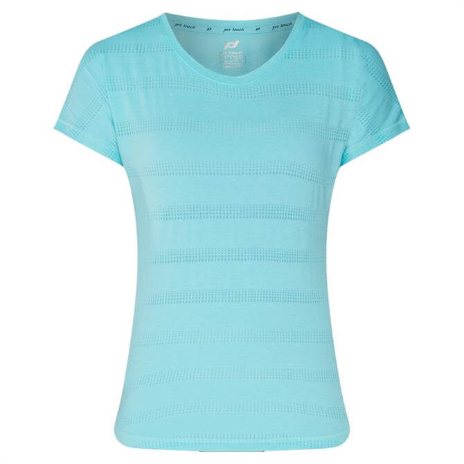 Pro Touch Women's Agny Running Top - Turquoise
