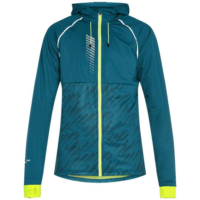 Pro Touch Myco Unisex Running Jacket - Blue/Yellow