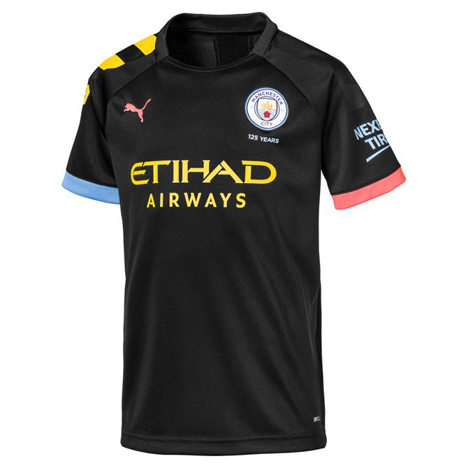 Puma Manchester City Kid's Away Shirt 2019-20