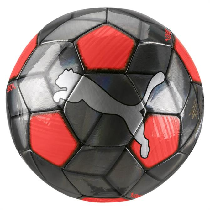 Puma One Strap Football - Silver/Red